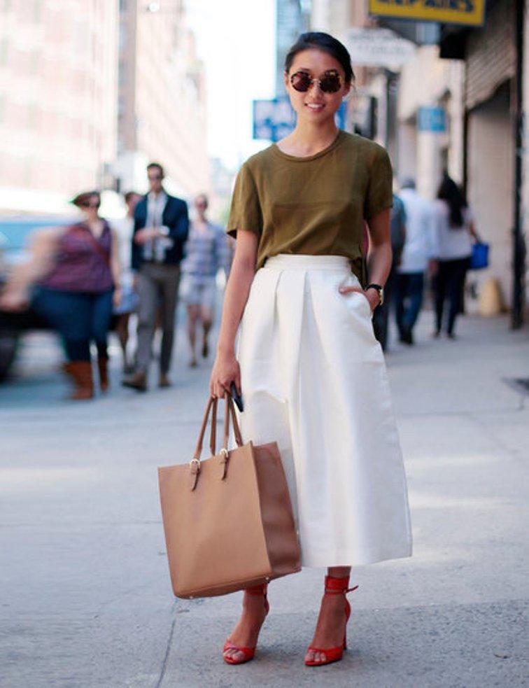knee length skirts26