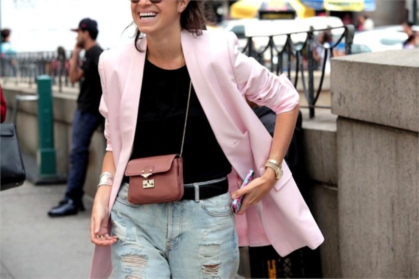 leandra pink jacket