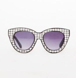 Pixie Market Houndstooth Sunglasses