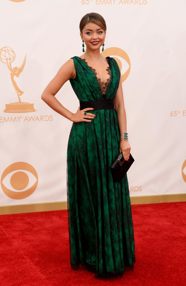 Sarah Hyland in CH Carolina Herrera