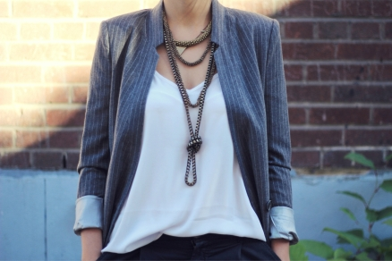 stack of necklaces | The Fashion Medley