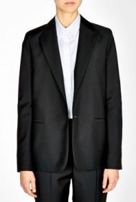 ACNE Cast Satin Piping Wool Tuxedo Jacket