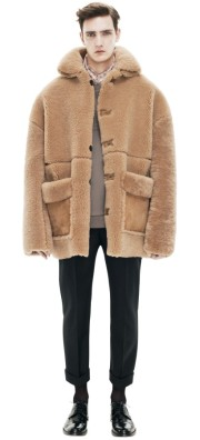 ACNE Ennis Shearling Light Brown