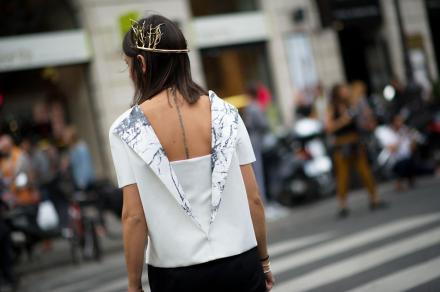 Natasha Goldenberg - Best of Paris Street Style   The Fashion Medley