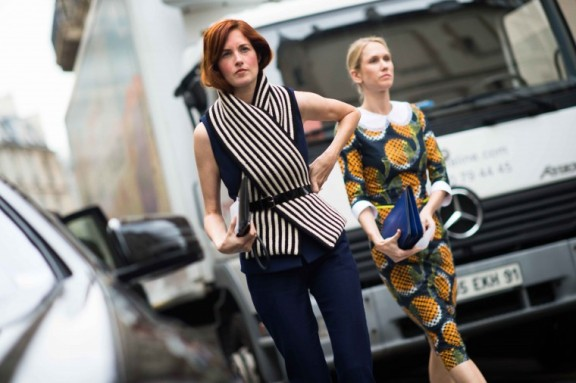 Taylor Tomasi Hill - Best of Paris Street Style | The Fashion Medley