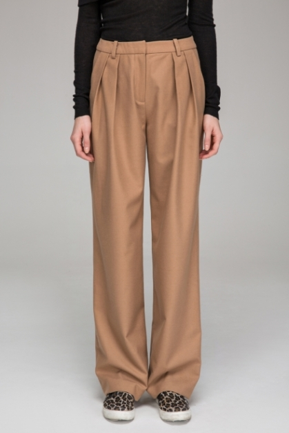Frontrow Shop Relaxed straight trousers