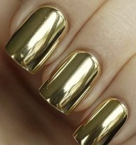 NAIL FOIL GOLD WRAPS STICKERS