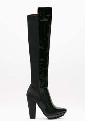 Jeffrey Campbell Argento Platform Thigh High Boot