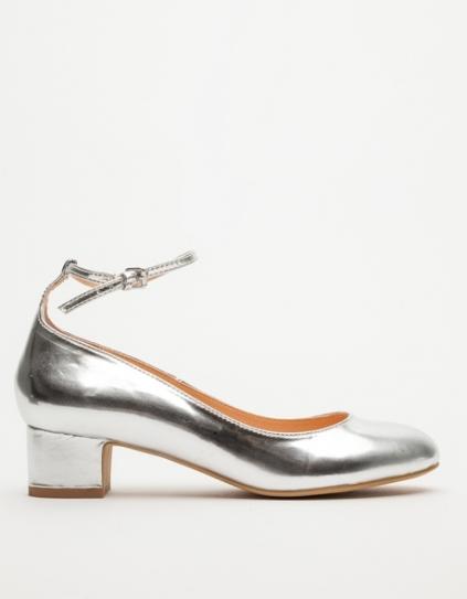 Marais USA Silver Kitten Heel