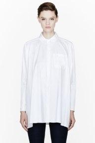 MMM White Dolman Sleeve Blouse