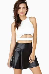 Nasty Gal Separate Ways Crop Top