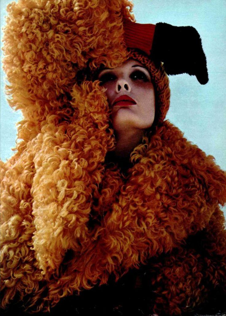 sheepskin coat harper's bazaar