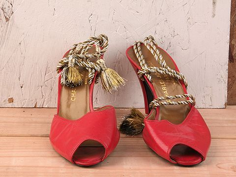 Vintage Red Shoes