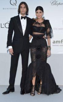 Giovanna Battaglia and Vladimir Restoin Roitfeld