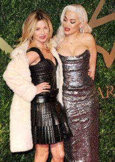 Kate Moss and Rita Ora