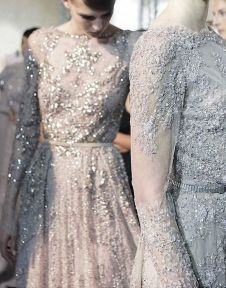 elie saab sequined gowns