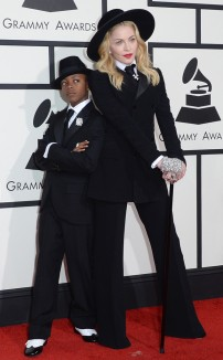 Madonna & David In Ralph Lauren Collection