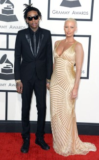 Wiz Khalifa & Amber Rose In Naeem Khan