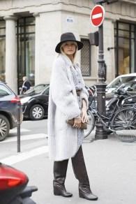 Yana Raskovalova Spring 2014 Couture Paris Street Style