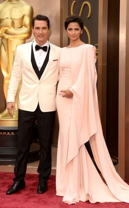 Matthew McConaughey & Camilla Alves