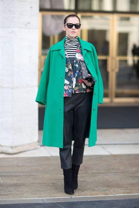 turtleneck layers new york fashion week