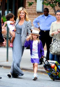heidi klum and daughter