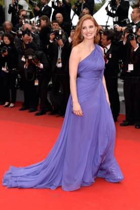 jessica chastain in elie saab