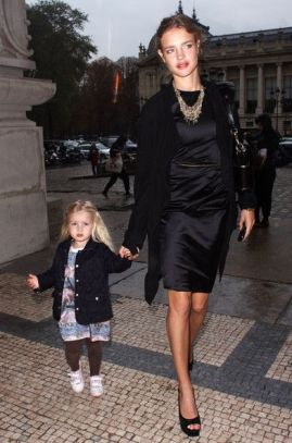 natalia vodianova and daughter