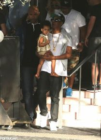 jay z with blue ivy
