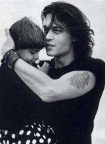 Johnny Depp & daughter Lily Rose