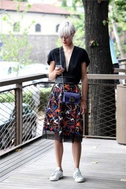 Pitti Uomo 2014 street style - women2