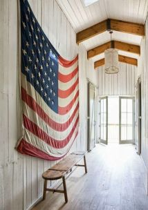 american flag decoration