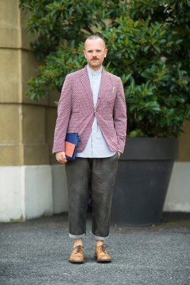 Men's Fashion Week Street Style 2