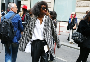 Paris Couture Fashion Week Fall 2014 street style 19
