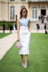 Paris Couture Fashion Week Fall 2014 street style 32