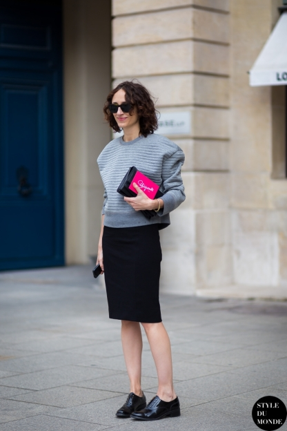 Paris Couture Fashion Week Fall 2014 street style 50