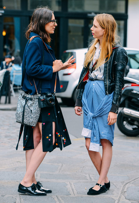 Paris Couture Fashion Week Fall 2014 street style 6