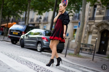 Paris Couture Fashion Week Fall 2014 street style 63