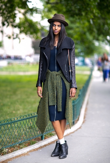 Paris Couture Fashion Week Fall 2014 street style 67