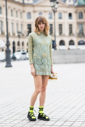 Paris Couture Fashion Week Fall 2014 street style 9