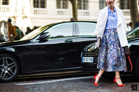 Paris Couture Fashion Week Fall 2014 street style