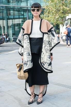 Best of London Fashion Week Street Style 39
