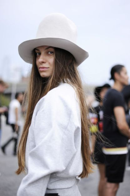 NYFW Streetstyle All White 10