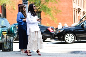 NYFW Streetstyle All White 18