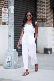 NYFW Streetstyle All White 3