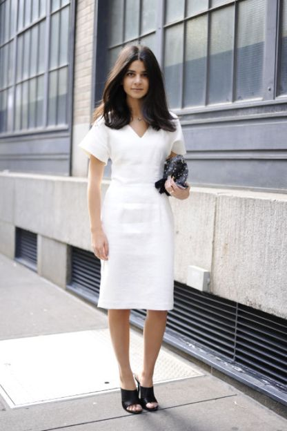 NYFW Streetstyle All White 9