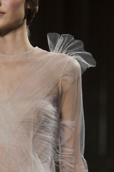 valentino couture 2014 tulle detail
