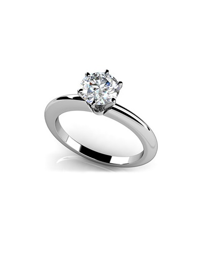 Anjolee Six Prong Solitaire Ring