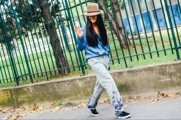 Best of Paris Fashion Week SS15 Street Style 10