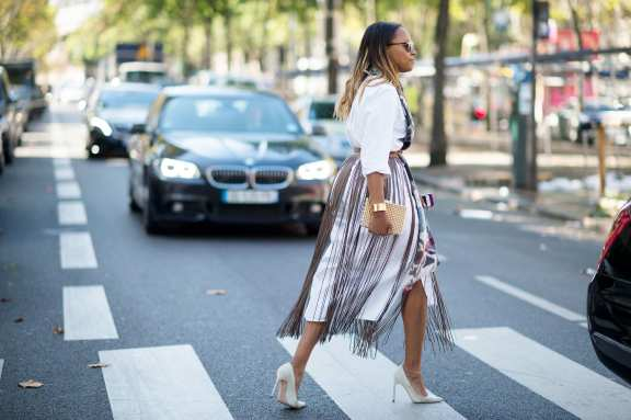 Best of Paris Fashion Week SS15 Street Style 110